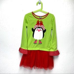 Sale🎈 Dolli & Me Christmas Penguin Sweater Dress
